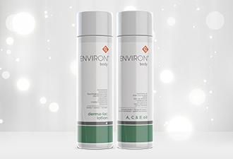 Body Range - Derma Lac Lotion & A C E Body Oil | Environ Skin Care