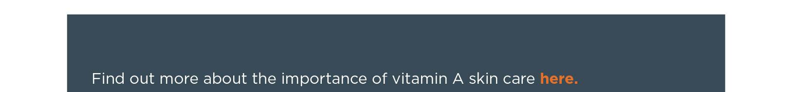 Vitamin A Skin Care